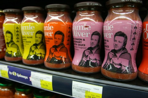 Jamie Oliver products at Spinneys, Qatar