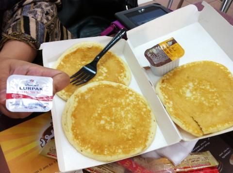 3-piece hotcakes