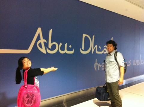 Welcome to Abu Dhabi