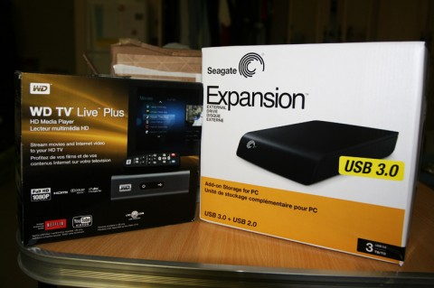 WDTV Live Plus and 3TB External Drive