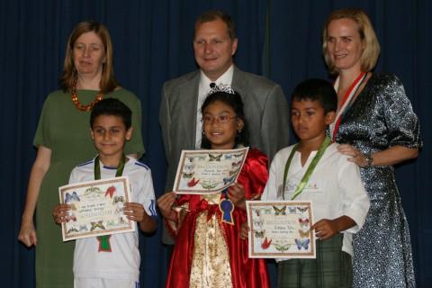 Xianelle wins Spelling Bee