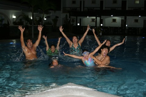 Night Swimming!