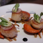 Pan-seared Scallops from the Fish Market Trolley