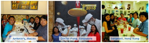 From Michelin-starred restaurants to hawker stands, we are indeed Foodies!